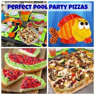 Perfect Pool Party Pizzas