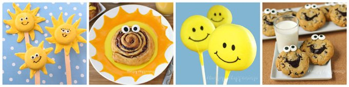 Fun smiley face treats for kids.