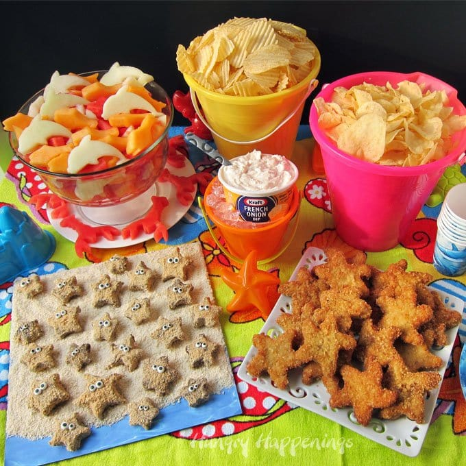 Beach party food ideas that will make a big splash with your party guests.