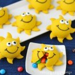 Serve up some fun this summer with cute Sunshine Pinata Cookies. Recipe at HungryHappenings.com