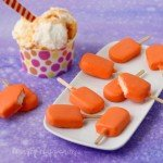 Cute little Orange Creamsicle™ Candy Pops have creamy vanilla candy centers covered in an orange flavored candy coating. All the flavors you love are in a tiny treat that's perfect for summer.