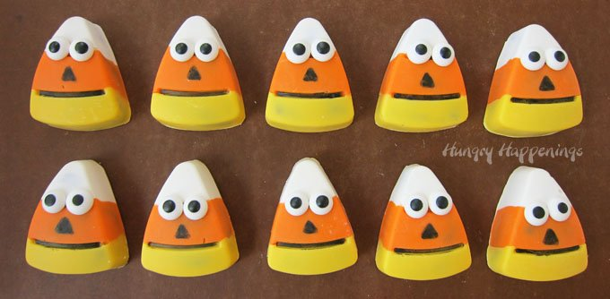 Cute and quirky Halloween treats. These Chocolate Candy Corn Truffles are fun to make and even more enjoyable to eat.