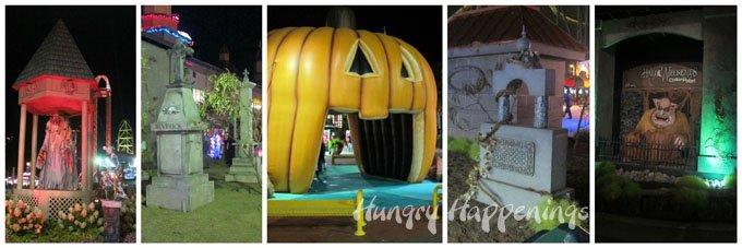 Cedar Point Halloween Decorations