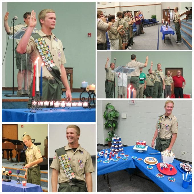 Brian's Eagle Scout Ceremony