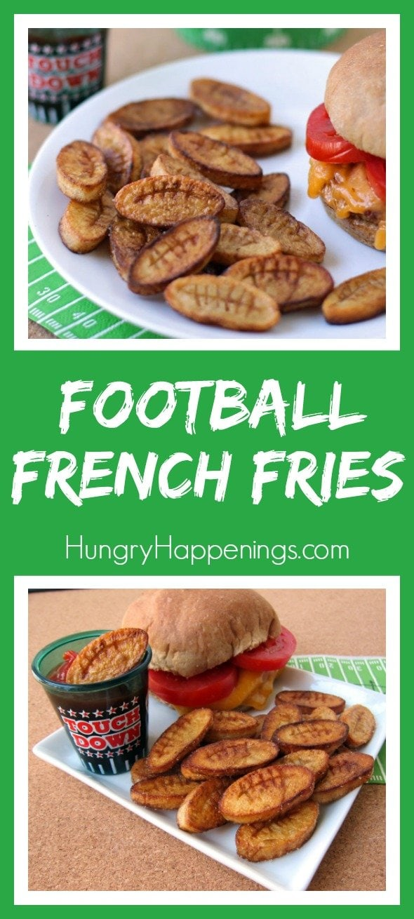 Football fans will cheer when you serve these fun French Fry Footballs and you'll be happy to see how easy they are to make using potatoes and Swanson® Broth.
