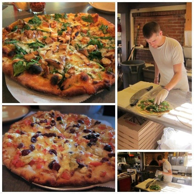 Rubys wood grilled pizza.
