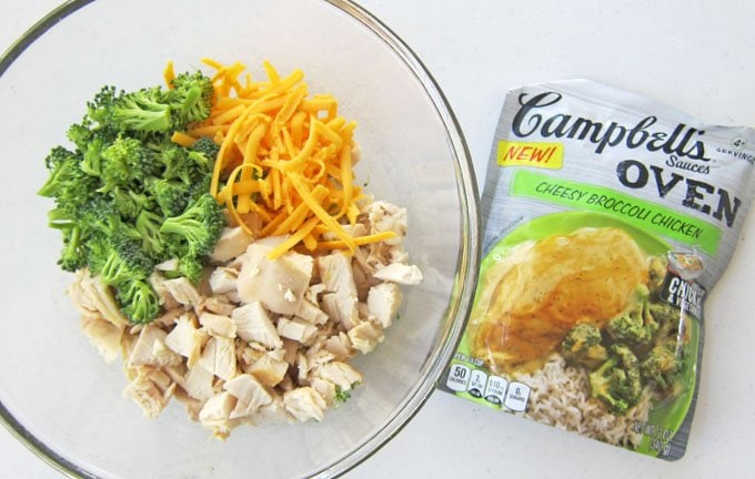 Campbell's Cheesy Broccoli Chicken Sauce