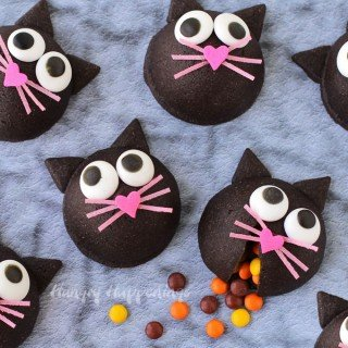 Wickedly Cute Halloween Treat – Candy filled Black Cat Cookies