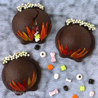 Magical Halloween Treats – Candy Filled Cauldron Cookies