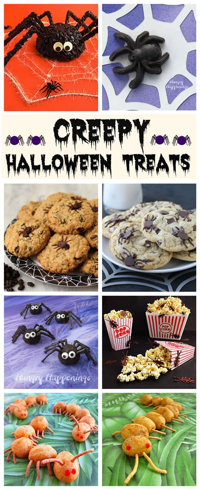 Make your friends squirm this Halloween by serving them some creepy treats.