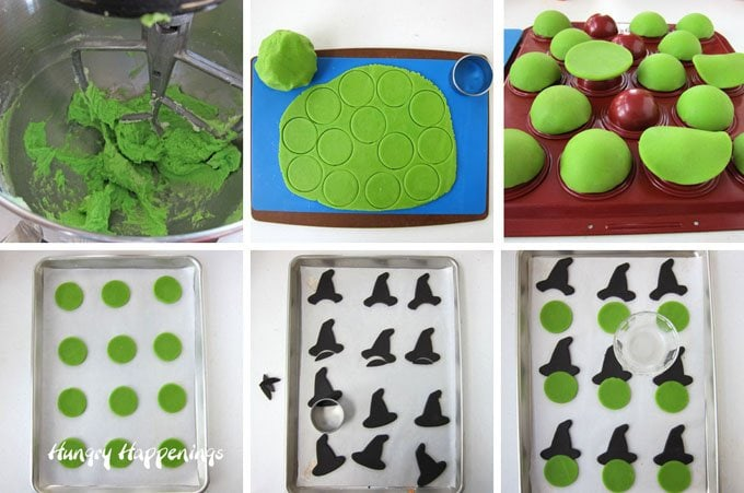 How to make Pinata style Candy Filled Witch Cookies