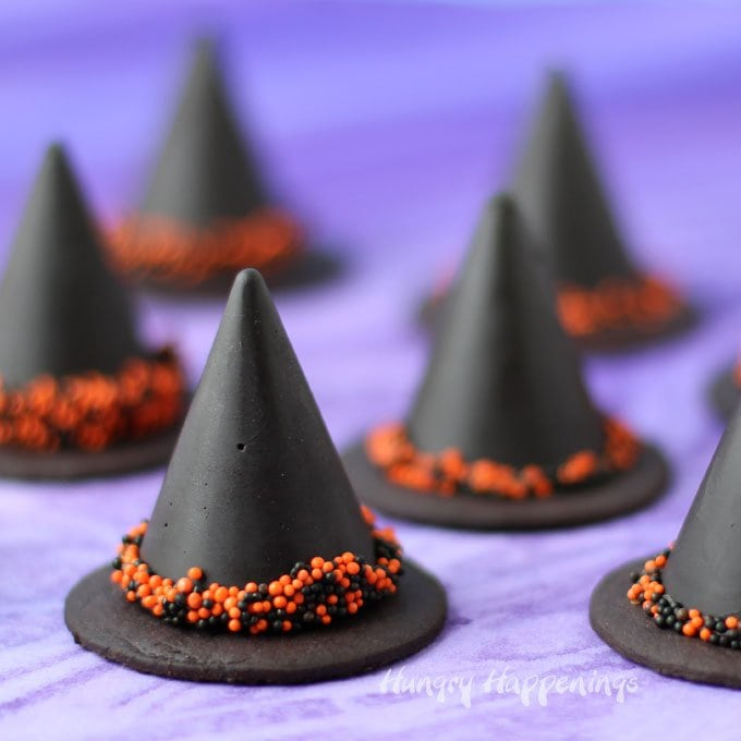 Fudge Witch Hats