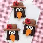 Chocolate Dipped Pretzel Crows