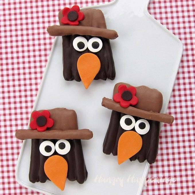 Chocolate Pretzel Crows