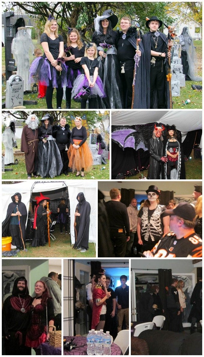 halloween theme wedding