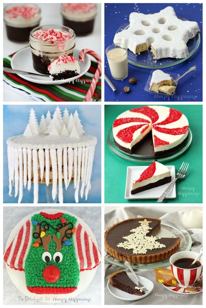 Make your holidays sweeter by serving these Christmas desserts. See the recipes at HungryHappenings.com.