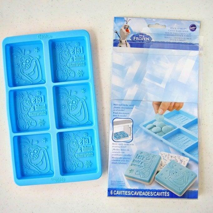 Wilton's Disney Frozen Olaf Silicone Candy Bar Mold