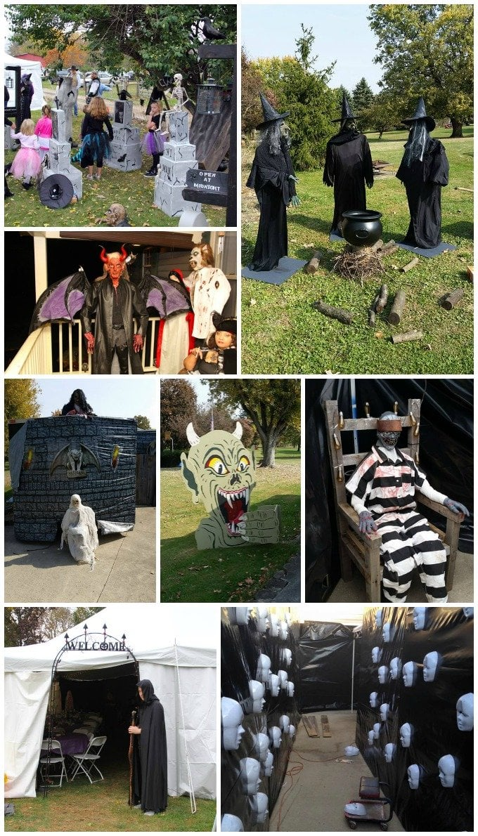 Halloween party decorating ideas.