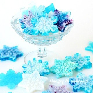 Hard Candy Snowflakes
