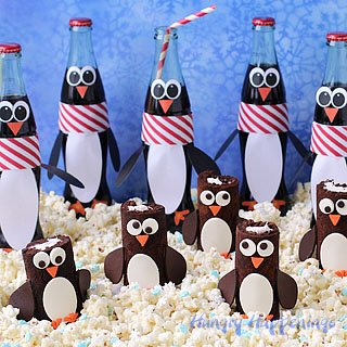 Coca-Cola Chocolate Cake Roll Penguins