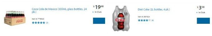 Coke at Sam's Club