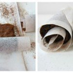 How to make a chocolate cake roll or mini cake rolls.