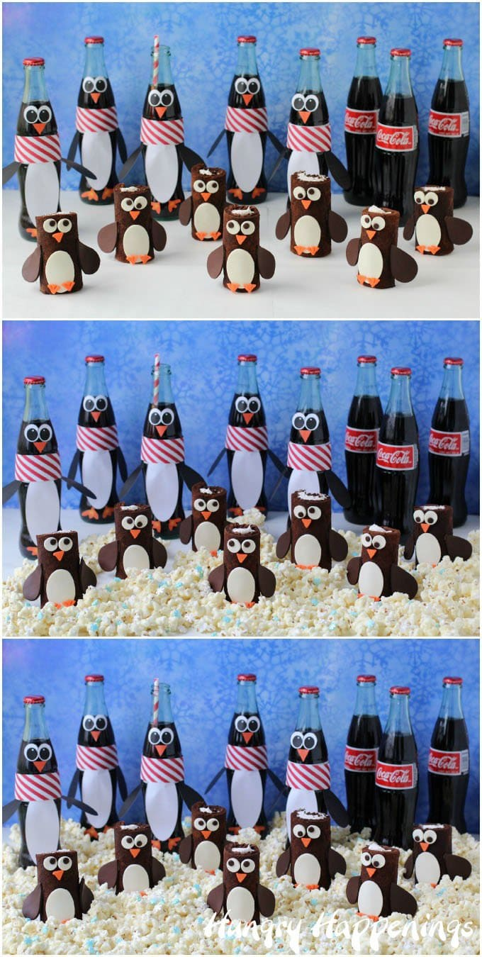 Penguin Party Tablescape