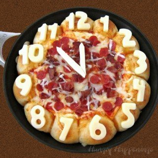 Skillet Pizza Dip Countdown Clock