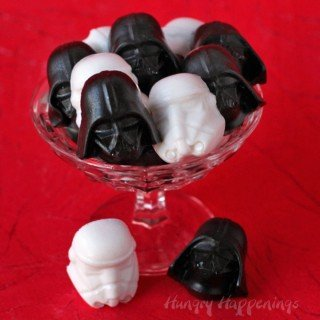 Star Wars Treats – Darth Vader Cherry Cola Gummy Candy and Stormtroopers Lemon-Lime Soda Gummies