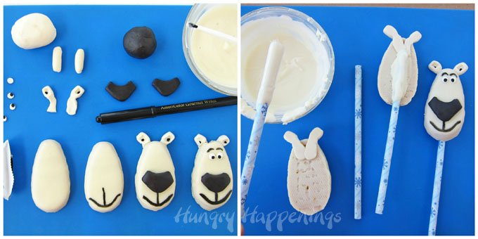 Turn Reese's Eggs into Norm of the North Lollipops. See the tutorial at HungryHappenings.com.
