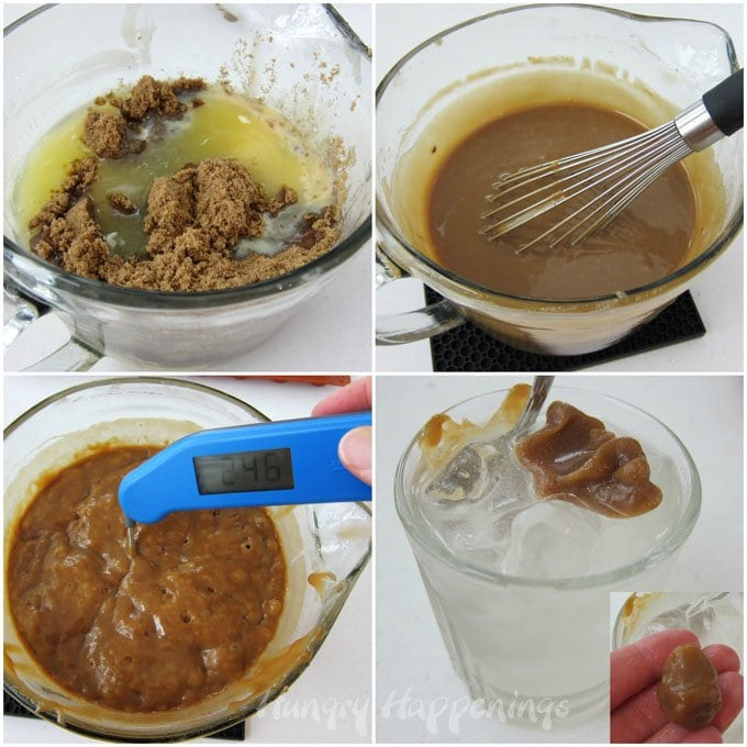 Easy microwave caramel recipe.