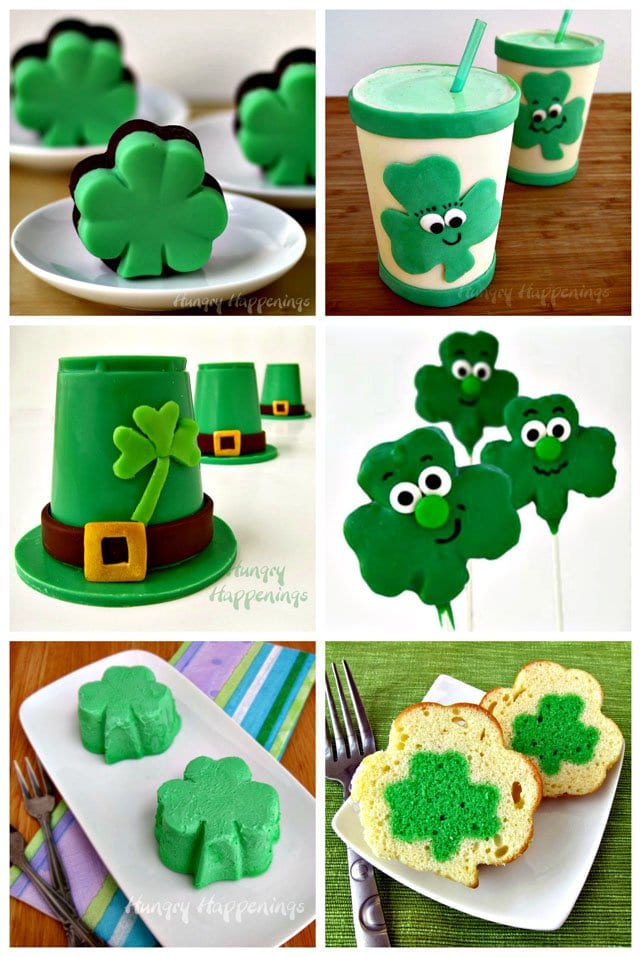 Have fun making these sweet St. Patrick's Day treats including fudge, shakes, candies, and cakes.