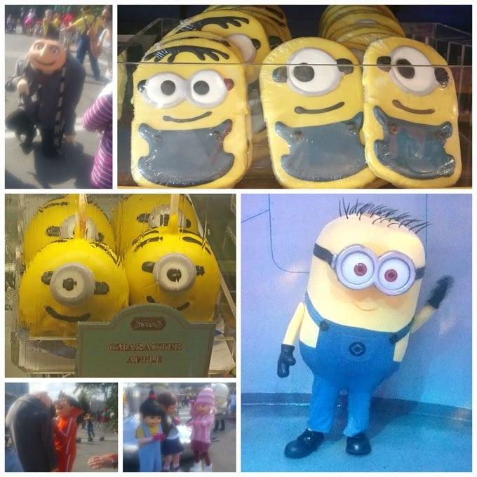 Minions and the characters from Despicable Me are everywhere at Universal Orlando.