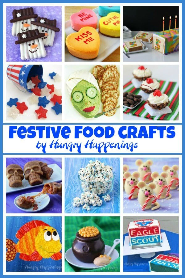 Fun Food Crafts by HungryHappenings.com.