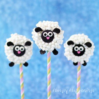 Oreo Lamb Lollipops – Cute Easter Treats
