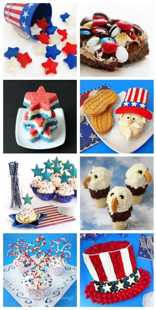 4th of July Desserts, Memorial Day Treats, Labor Day Recipes, and Veterans Day Sweets