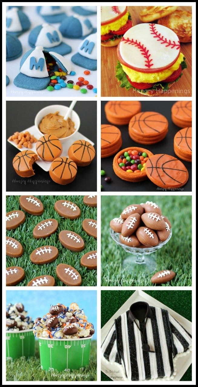 Create some fun treats to serve at your sports themed party.