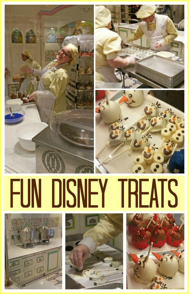 It's so fun to watch the candy makers creating treats at Disney World's Main Street Confectionery shop.