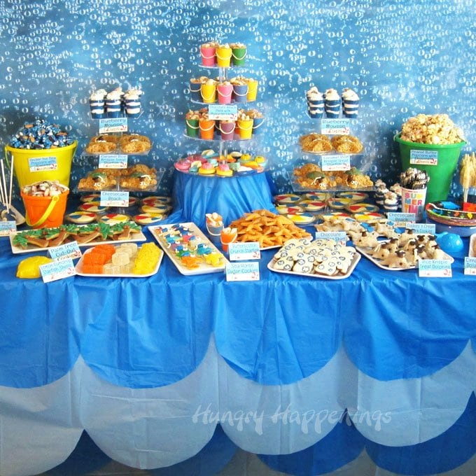 Pool Themed Bathroom: Beach Themed Party Ideas & Under The Sea Desserts