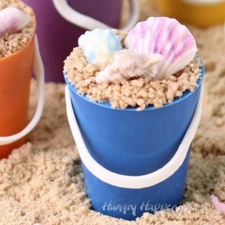Mini Chocolate Beach Pails