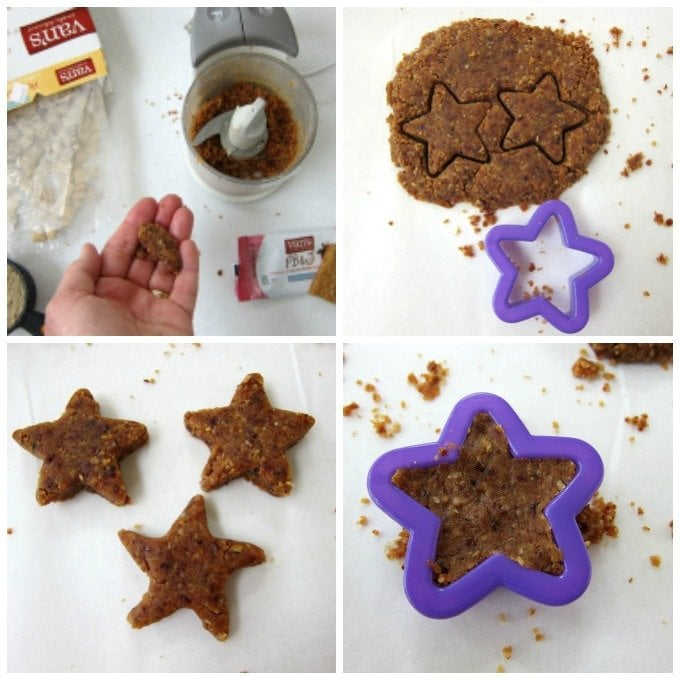 How to make gluten free power bars shaped like starfish for a beach themed party or summertime snack.