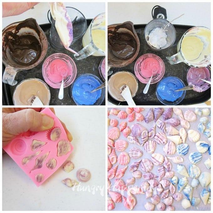 How to make chocolate shells