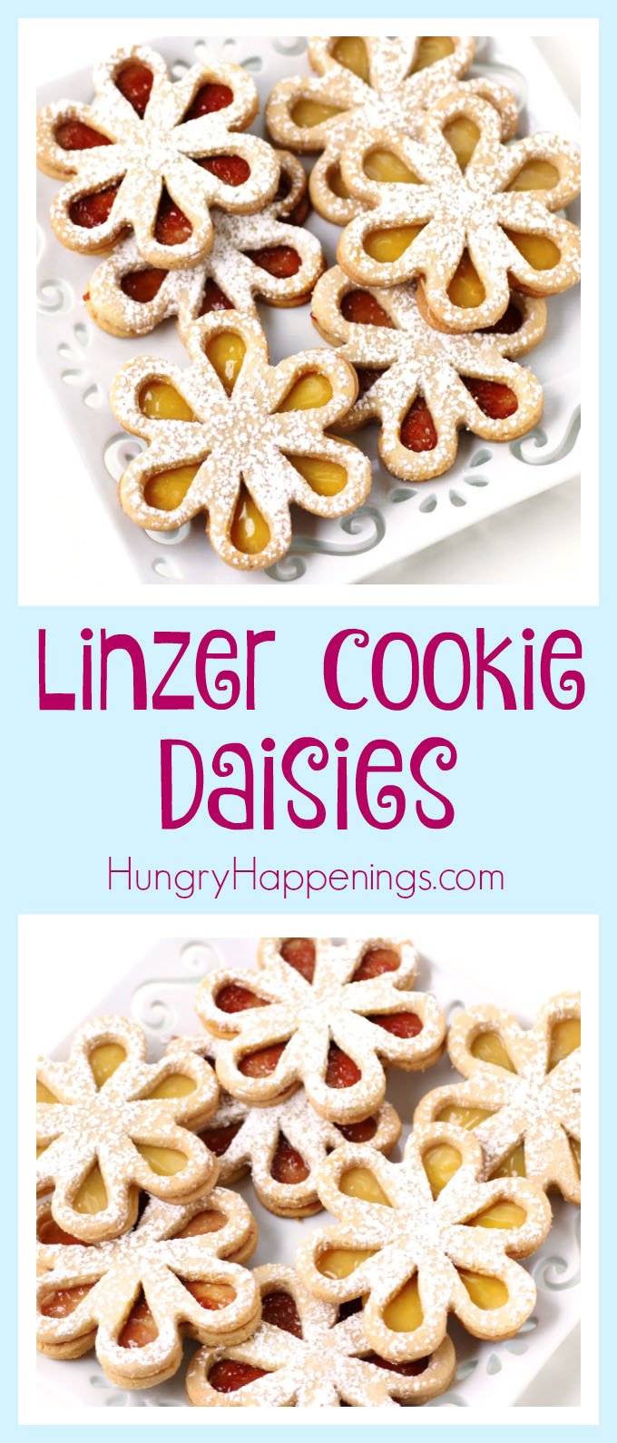 Turn crunchy almond cookies into pretty flowers. These Liner Cookie Daisies make perfect treats for Mother's Day, bridal showers, spring luncheons, or even an afternoon tea.