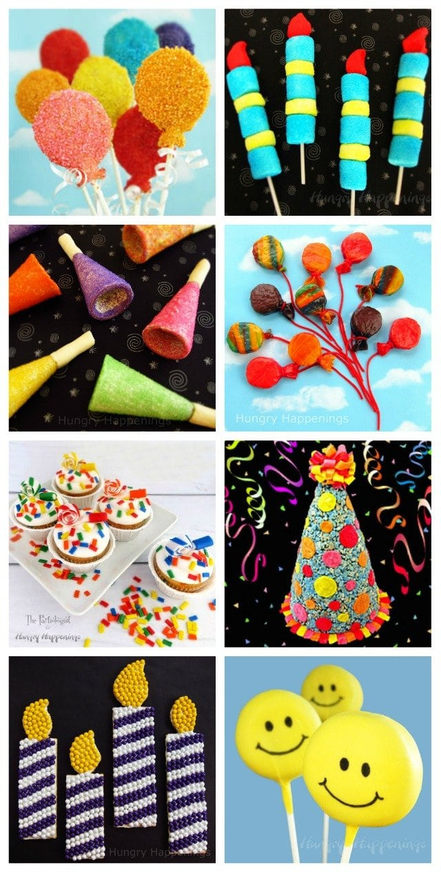 Make these festive birthday party treats for kids.