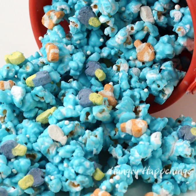 How to make Finding Dory Just Keep Swimming Popcorn
