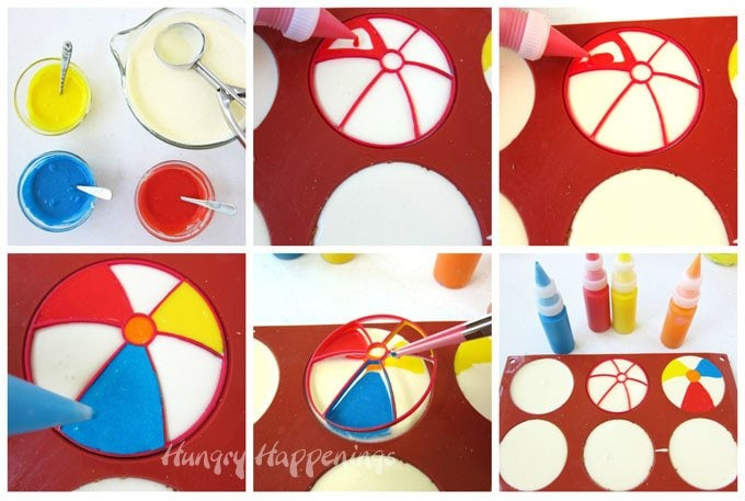 How to make Cheesecake Beach Balls.