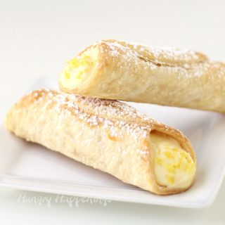 Lemon Meringue Pie Cannoli