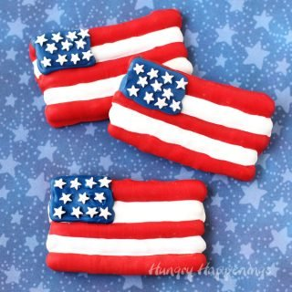 American Flag Pretzels – Festive 4th of July Treats