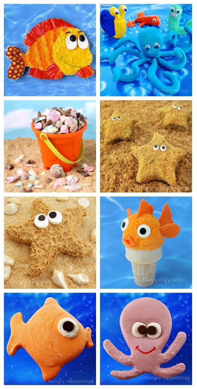 Under the Sea Treats perfect for a beach or pool party.