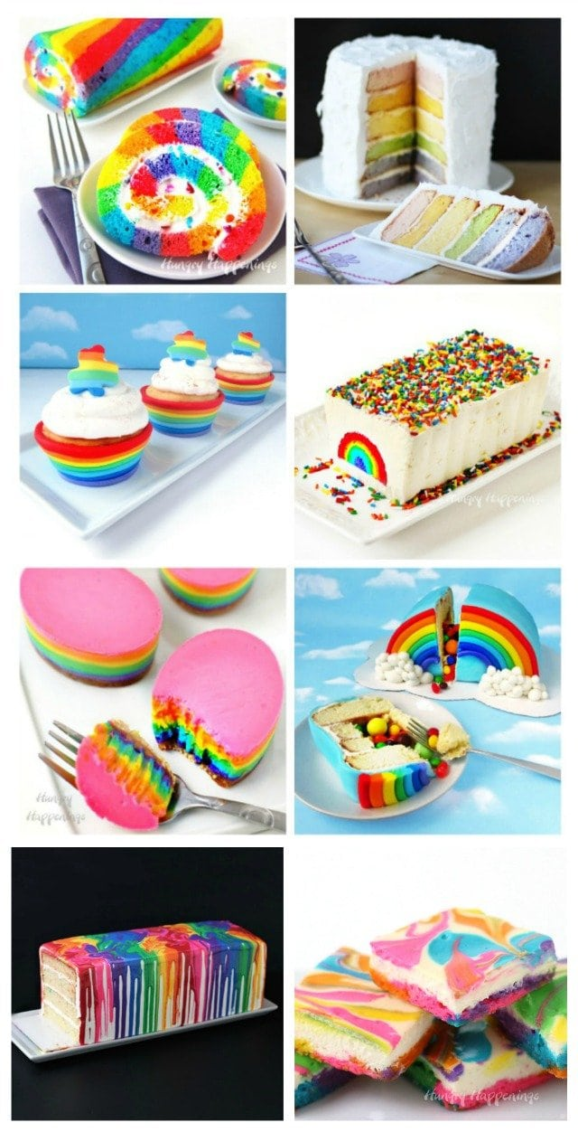 Brighten up your meal by ending it with a Rainbow Dessert. These colorful treats are sure to please kids and adults.